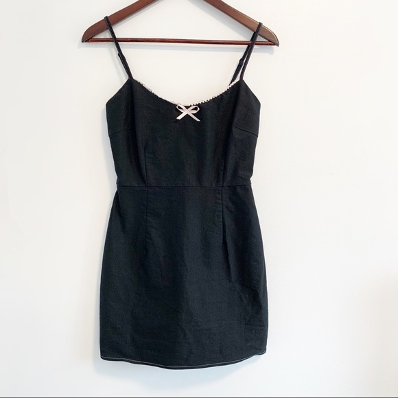 Urban Outfitters Black Mini Dress Small